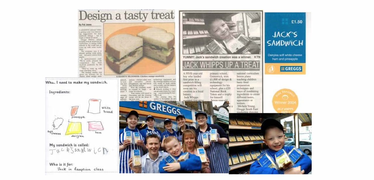 Retail PR Agency London - PR case studies - Greggs - Clareville