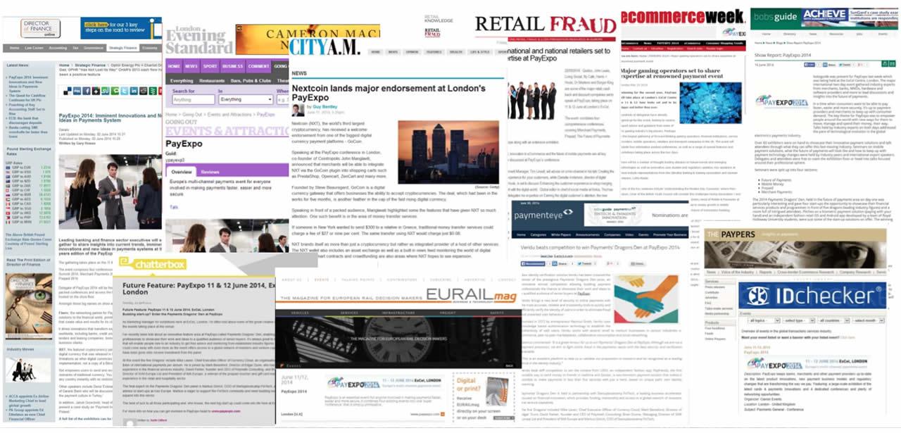PR case studies - Payments Industry PR