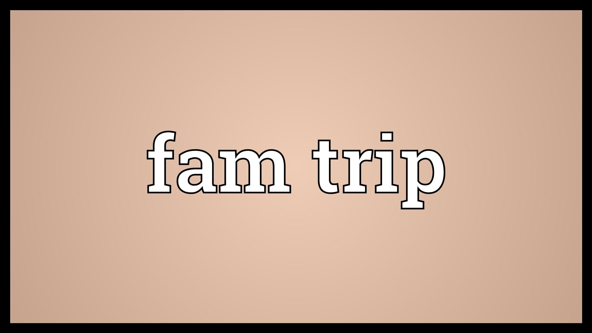 Come fly with me: Planning a FAM trip - Clareville